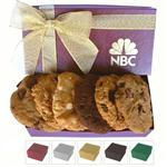 Executive Cookie Box Custom Imprinted, Promotional Cookie Boxes, Holiday Cookie Gifts