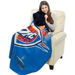Full Color Custom Blankets in a double layer polar fleece with promotional edge to edge imprint