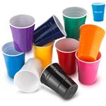 Custom Party Cups in Reusable Plasti Custom Imprinted with Your Logo