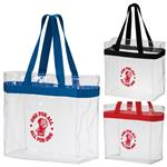 Security Approved Stadium Tote Bag Clear