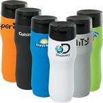 Caturra Vacuum Insulated Tumbler with stainless steel interior and stone like exterior