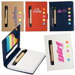 Sticky Jotter Pen Set