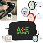Travel Charging USB Kit for iPhones, iPads, Smart and Mobile Phones and Tablets