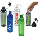 Twice around tritan bottle - reuasable water bottle by Adco Marketing.  BPA free.