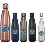 Mega Copper Vacuum Insulated Bottle 26oz with a custom imprint