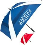 Windjammer Vented Square Golf Umbrella with custom imprint
