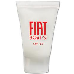Custom Sunscreen Tube in 0.5 oz Size with SPF15 or SPF30