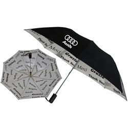 World of Thanks Promotional Umbrellas, Thank You Custom Umbrellas