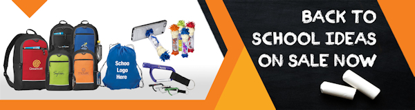 Back to School Promotional Items and Products with School Logos