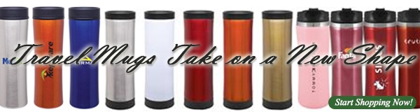 Promotional Travel Mugs and Custom Travel Mug with Logos