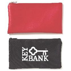 600d Polyester Custom Zippered Bank