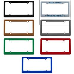 Usa Made Promotional License Plate Frames Custom Licencse Plate Frames By Adco