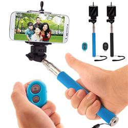 selfie stick with snap remote promotional remote selfie sticks adco marke. Black Bedroom Furniture Sets. Home Design Ideas