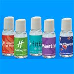 1 oz. Made in USA Hand Sanitizers with Full Color Label and a Round Bottle