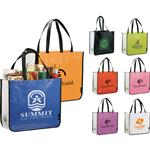 Laminated Non-Woven Large Shopper Tote Bags