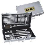 24 Pc. Deluxe BBQ Sets in Case