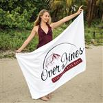 "40"" x 70"" Custom Beach Towels 24 lbs/doz"