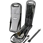 5 Pc. BBQ Pouch Sets in Zippered Case
