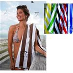 "Cabana Custom Beach Towels 35"" x 60"" 15 lbs/doz"