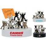 Custom Teamwork Magnetic Sculpture and Paperweights