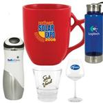 All Custom Logo Mugs, Promotional Travel Mugs, Logo Water Bottles, Barware and Drinkware