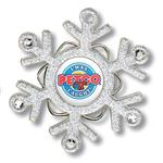 Full Color Snowflake Ornament, Custom Ornamnet  by Adco Marketing