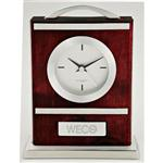 Quercia V1 Wood and Aluminum Carriage Clocks