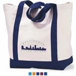 Captain`s Cotton Canvas Boat Tote Bags