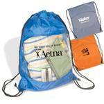 Clear View Security Drawstring Bacpacks