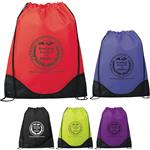 Cinch Top Drawstring Bags or Cinch Backpacks with Custom Logo