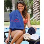 "Classic Collection Custom Beach Towels 35"" x 70"" 21 lbs/doz"