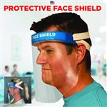 Made in USA Thick Face Shield - 20 mil Meets FDA Requirements