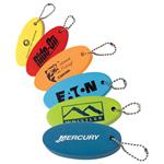 Floater Keychains Custom Imprinted.  Promotional Boating Keychain.