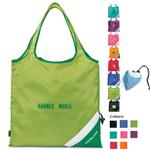 Custom Folding Tote Bags, Latitudes Foldaway Shopper Totes