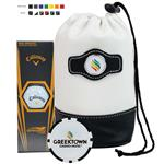 Value Golf Kit with Bag, Callaway Golf Balls and Ball Marker Poker Chip
