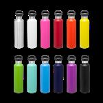 h2go Ascent Powder Coated Vacuum Sealed Bottle with Copper Lining - Hydro type Flask