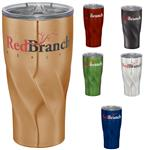 Hugo Vacuum Insulated Travel Mug with a promotional logo