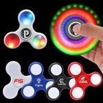 LED Lighted Fidget Spinner customized