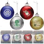 Light Up Glass Ornaments with Logo