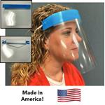 Face Shields - Made in USA for protection against splatter