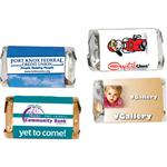 Miniature Hershey Singles Chocolate Bars with Custom Full Color Label, Promotional Hershey Bars