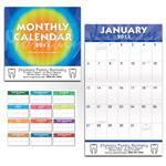 2013 Promotional Monthly Calendars, Custom Wall Calendar