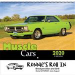 Muscle Cars Promotional Wall Calendar
