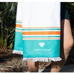Custom Peshtemal Beach Towels with your custom logo printed or embroidered - 40 x 70 inches