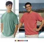 Color Wash Pigment Dyed Promotional T Shirts, Custom Color Wash T-Shirts
