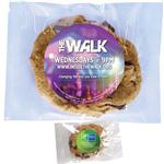 Custom Cookie Individually Wrapped, Promotional Cookies with Full Color Label