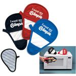Promotional Finger Mitts for Microwave and Office
