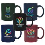 Full Color Custom Printed Promotional Ceramic Mugs 11 oz