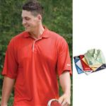 Textured Reebok Polo Golf Apparel