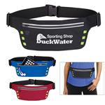 Running Belt With Safety Strip And Lights customized with your logo by Adco Marketing